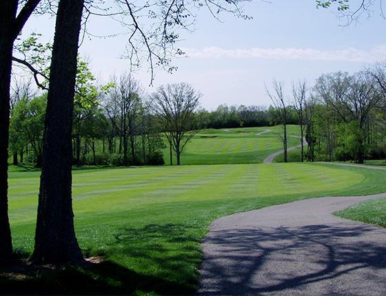 Scenic Maine Golfing
